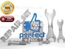 Thumbnail Komatsu PC300LC-6LE PC300HD-6LE Crawler Excavator Parts Catalogue Manual (S/N A83001-UP)